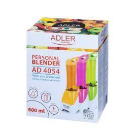 Koktajler / Blender kuchenny plastikowy ADLER PERSONAL POMARAŃCZOWY 250 W