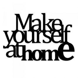 Napis na ścianę dekoracyjny DEKOSIGN MAKE YOURSELF AT HOME