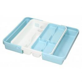 Organizer / Wkład do szuflady na sztućce plastikowy TONTARELLI MIX KOLORÓW 40 x 31 cm