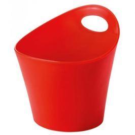 Koszyk plastikowy KOZIOL POTICHELLI L CZERWONY 21 x 19,5 cm