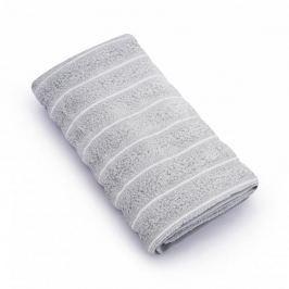 Ręcznik łazienkowy bawełniany MISS LUCY VACANZA SZARY 50 x 90 cm