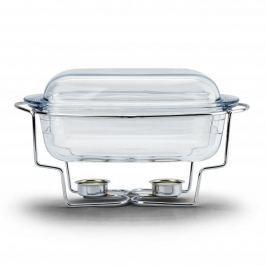 Naczynie żaroodporne z podgrzewaczem szklane ODELO PRESTIGE 3 l