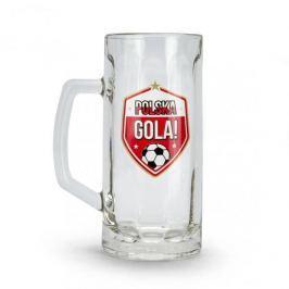 Kufel do piwa szklany MUNDIAL POLSKA GOLA 500 ml