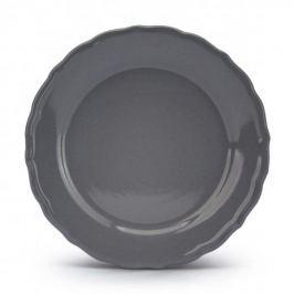 Talerz deserowy ceramiczny JULIETTE SZARY 22 cm
