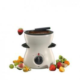 Zestaw do fondue plastikowy CILIO KREMOWY