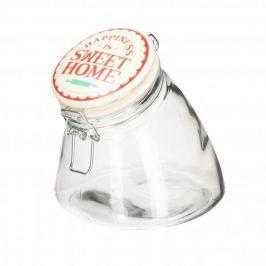 Słoik na ciastka z pokrywką szklany FLORINA SWEET HOME 1,2 l