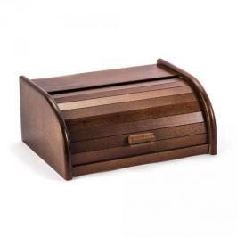 Chlebak drewniany ODELO MAŁY CIEMNOBRĄZOWY