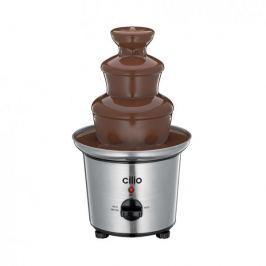 Fontanna do czekolady elektryczna plastikowa CILIO PERU SREBRNA 60 W