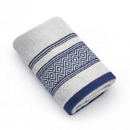 Ręcznik łazienkowy do rąk bawełniany MISS LUCY SANNY SREBRNY 30 x 50 cm
