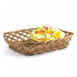 Koszyk na chleb i pieczywo wiklinowy DEKOR 39 x 29 cm