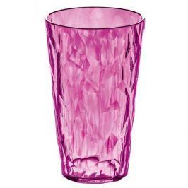 Kubek na zimne napoje plastikowy KOZIOL CRYSTAL RÓŻOWY 450 ml