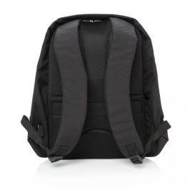 Plecak antykradzieżowy poliestrowy XDDESIGN SWISS ANTI CZARNY