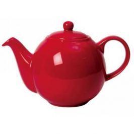 Dzbanek do herbaty ceramiczny LONDON POTTERY GLOBE CZERWONY 1,5 l