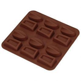 Forma do 12 czekoladek silikonowa SILIKOMART PRALINKI BRĄZOWA