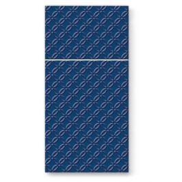 Serwetki papierowe dekoracyjne  PAW POCKET GRANATOWE 16 szt.