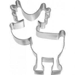 Foremka / Wykrawacz do ciastek metalowy BIRKMANN RENIFER RUDOLF 9 cm