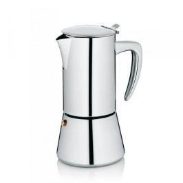 Kawiarka stalowa ciśnieniowa KELA LATINA - kafetiera na 6 filiżanek espresso