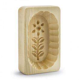Forma do masła drewniana KWIAT