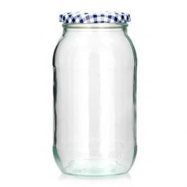 Słoik na przetwory szklany KILNER GRID 0,7 l