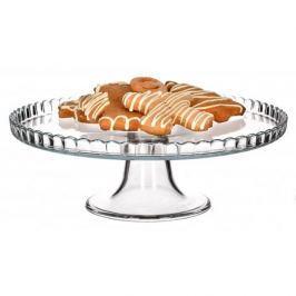 Patera stała na ciasto szklana PASABAHCE DOUCEURS 28 cm - stojak na tort