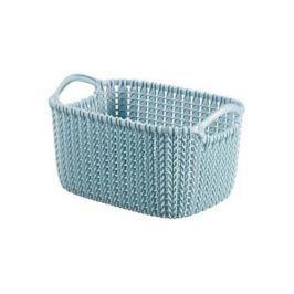 Koszyk plastikowy CURVER KNIT NIEBIESKI 3 l