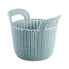 Koszyk plastikowy CURVER KNIT MAŁY NIEBIESKI 3 l