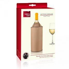 Schładzacz do wina plastikowy VACU VIN CHILLY BEŻOWY