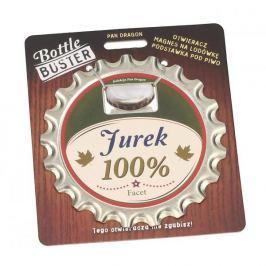Otwieracz do piwa i butelek ze stali nierdzewnej z magnesem PAN DRAGON JUREK