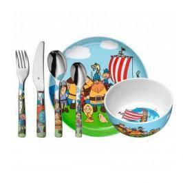 Naczynia dla dzieci porcelanowe WMF WICKIE WIELOKOLOROWE ( 6 el.)