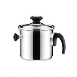 Garnek do gotowania mleka ze stali nierdzewnej z gwizdkiem i pokrywką TESCOMA PRESTO 2 l