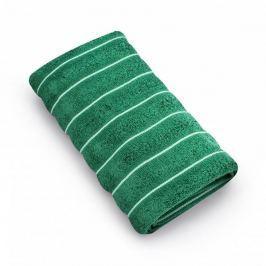 Ręcznik łazienkowy bawełniany MISS LUCY VACANZA ZIELONY 70 x 140 cm
