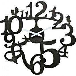 Zegar ścienny KOZIOL PI CZARNY