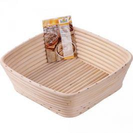 Koszyk do wyrastania chleba rattanowy BIRKMANN SQUARE BEŻOWY 23 x 23 cm