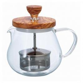 Dzbanek do herbaty szklany z zaparzaczem HARIO TEAOR 0,5 l