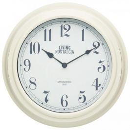 Zegar ścienny KITCHEN CRAFT LIVING NOSTALGIA KREMOWY 25,5 cm