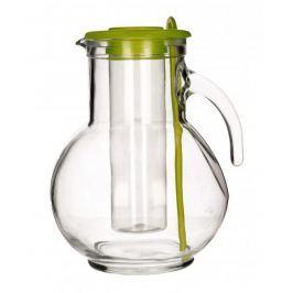 Dzbanek szklany do napojów z wkładem chłodzącym BORMIOLI ROCCO GREEN 2 l