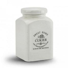 Pojemnik ceramiczny na cukier KWADRATOWY SWEET HOME II 0,9 l