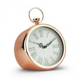 Zegarek stojący metalowy DUO RETRO MIEDZIANY