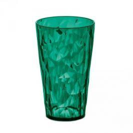 Szklanka do napojów plastikowa KOZIOL CLUB L CIEMNOZIELONA 450 ml