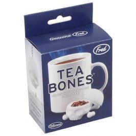 Zaparzacz do herbaty silikonowy INVOTIS CZASZKA BIAŁY