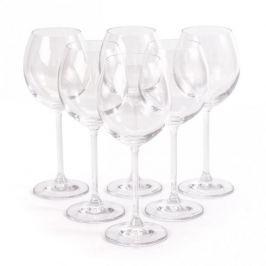 Kieliszki do czerwonego wina szklane FLORINA VERONICA 350 ml 6 szt.