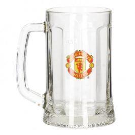 Kufel do piwa szklany MANCHESTER UNITED 500 ml