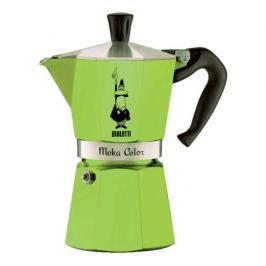 Kawiarka aluminiowa ciśnieniowa BIALETTI MOKA EKSPRESS ZIELONA - kafetiera na 3 filiżanki espresso