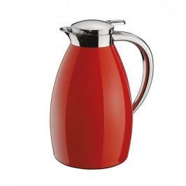Dzbanek termiczny do herbaty i kawy stalowy CILIO COLORE CZERWONY 1 l