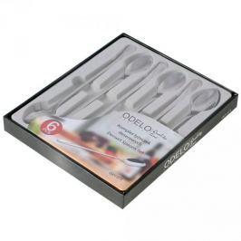 Łyżeczki do lodów ze stali nierdzewnej ODELO CLASSIC (6 szt.)