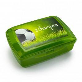 Śniadaniówka / Pojemnik na kanapki dwukomorowy plastikowy BRANQ CHAMPION ZIELONA