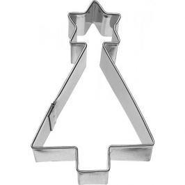 Foremka / Wykrawacz do ciastek metalowy BIRKMANN CHOINKA Z GWIAZDĄ 7,5 cm