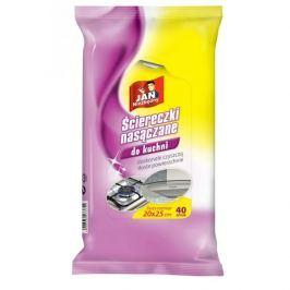 Ściereczki nasączane do kuchni JAN NIEZBĘDNY 40 szt.