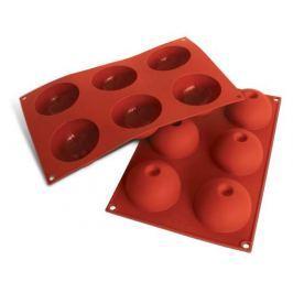 Forma do pieczenia 6 muffinek i babeczek silikonowa SILIKOMART SEMISFERE