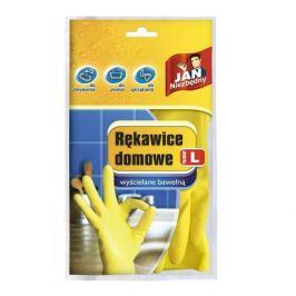 Rękawiczki lateksowe domowe JAN NIEZBĘDNY MIX KOLORÓW L